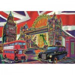 Puzzle  Trefl-10525 Colours of London