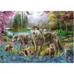 Puzzle  Trefl-10558 Wolf Family