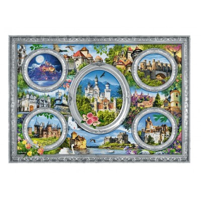Puzzle Trefl-10583 Castles of the World