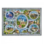 Puzzle  Trefl-10583 Castles of the World
