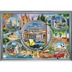 Puzzle  Trefl-10585 Italian Holidays