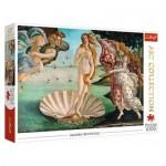 Puzzle  Trefl-10589 Sandro Botticelli - The Birth of Venus