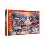Puzzle  Trefl-10602 White Christmas