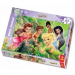 Puzzle  Trefl-13114 Tinkerbell and her friends