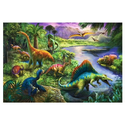 Puzzle Trefl-13214 Dinosaurs