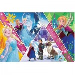 Puzzle  Trefl-13238 XXL Pieces - Frozen