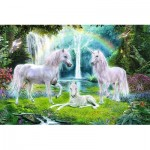 Puzzle  Trefl-13240 XXL Pieces - Unicorns