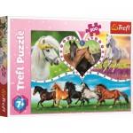 Puzzle  Trefl-13248 Horses