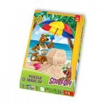 Puzzle  Trefl-14115 Maxi Pieces: Scooby-Doo at the beach