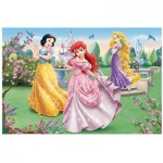 Trefl-14135 Jigsaw Puzzle - 24 Pieces - Maxi - Disney Princesses