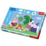 Puzzle  Trefl-14157 Peppa Pig