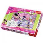 Puzzle  Trefl-14165 Maxi Pieces Recto / Verso: Minnie and Daisy