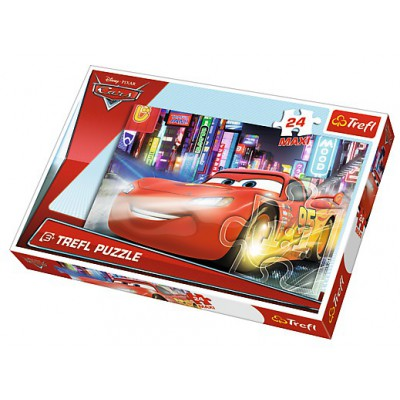 Puzzle Trefl-14235 XXL Jigsaw Pieces - Cars