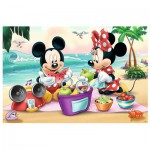 Puzzle  Trefl-14236 XXL Jigsaw Pieces - Mickey