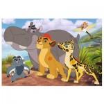 Puzzle  Trefl-14240 XXL Pieces - Disney Lion Guard