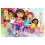 Puzzle  Trefl-14242 XXL Pieces - Dora