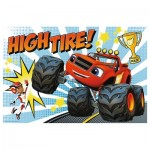 Puzzle  Trefl-14244 XXL Jigsaw Pieces - High Tire!
