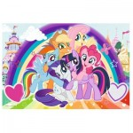 Puzzle  Trefl-14269 XXL Pieces - My Little Pony