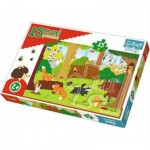 Puzzle  Trefl-14276 XXL Pieces - Animals in the forest