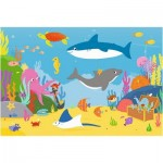Puzzle  Trefl-14277 XXL Pieces - Underwater world