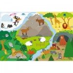 Puzzle  Trefl-14280 XXL Pieces - Animals