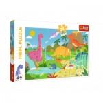 Puzzle  Trefl-14284 XXL Pieces - Dinosaurs