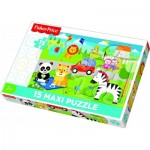 Puzzle  Trefl-14286 XXL Pieces - Mattel Fisher-Price