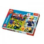 Puzzle  Trefl-14290 XXL Pieces - Fireman Sam