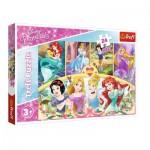 Puzzle  Trefl-14294 Disney Princess