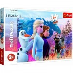 Puzzle  Trefl-14298 XXL Pieces - Frozen II