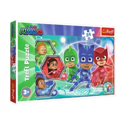 Puzzle Trefl-14299 XXL Pieces - PJ Masks
