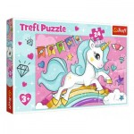 Puzzle  Trefl-14302 XXL Pieces - Unicorn