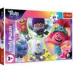 Puzzle  Trefl-14318 XXL Pieces - Dreamworks - Trolls World Tour