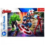 Puzzle  Trefl-14321 XXL Pieces - Disney Marvel The Avengers