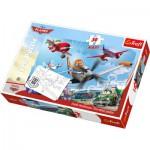 Puzzle  Trefl-14406 Maxi Pieces Recto / Verso: Planes