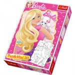 Puzzle  Trefl-14408 Maxi Pieces Recto / Verso: Barbie