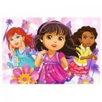 Trefl-14814 Glam Jigsaw Puzzle - Dora