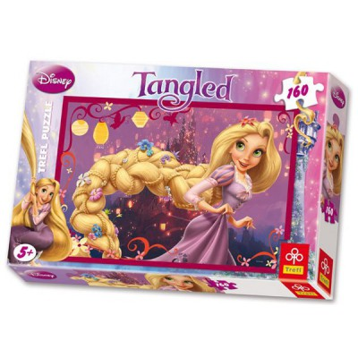 Trefl-15194 Jigsaw Puzzle - 160 Pieces - Disney Princesses : Rapunzel