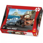 Puzzle  Trefl-15196 Cars 2