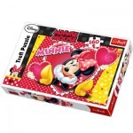 Puzzle  Trefl-15220 In the thoughts of Minnie