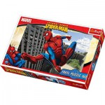 Trefl-15221 Jigsaw Puzzle - 160 Pieces - Spider-Man : Ready for Action