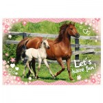Puzzle  Trefl-15331 Horses