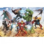 Puzzle  Trefl-15368 Disney Marvel, The Avengers