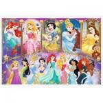 Puzzle  Trefl-15407 Disney Princess