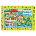 Trefl-15534 Puzzle Observation - House