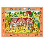 Trefl-15535 Puzzle Observation - Farm