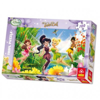 Trefl-16159 Jigsaw Puzzle - 100 Pieces - Disney Fairies