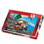 Trefl-16187 Jigsaw Puzzle - 100 Pieces - Cars 2 : Matter Takes Off