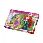 Puzzle  Trefl-16199 Princesses