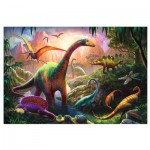 Puzzle  Trefl-16277 World of Dinosaurs